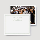 Marquee Wedding Thank You Cards