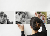 Photo Collage Wall Decals