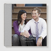 Panoramic Photo Book With Modern Font