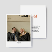 Modern Deco Photo Save The Date Cards
