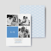 Art Deco Photo Save The Date Cards