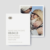 Union Photo Save The Date Cards