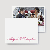 Jolie Wedding Thank You Cards