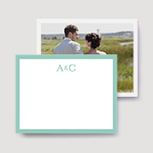 Coastal Wedding Thank You Cards