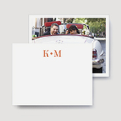 Modern Wedding Thank You Cards