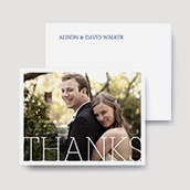 Love Letters Thank You Cards