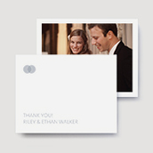 Union Wedding Thank You Cards