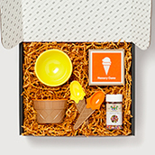 Ice Cream Social Personalized Gift Box