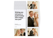 City Sleek Accordion Photo Card