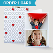 Xoxo Valentine's Day Photo Card