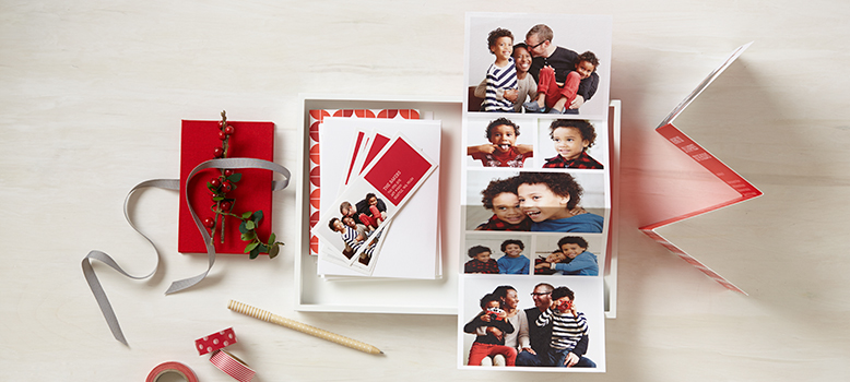 Holiday Cards: Flat, Folded, Address Labels