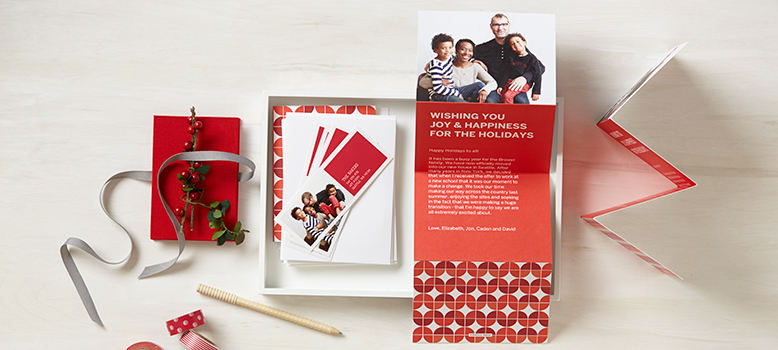 Holiday Cards with Editable Text