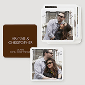 pinhole-press-modern-wedding-square-coaster-brown-waterfall