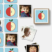 Memory Game Apple Waterfall