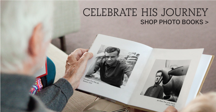 Celebrate His Journey - Shop Photo Books