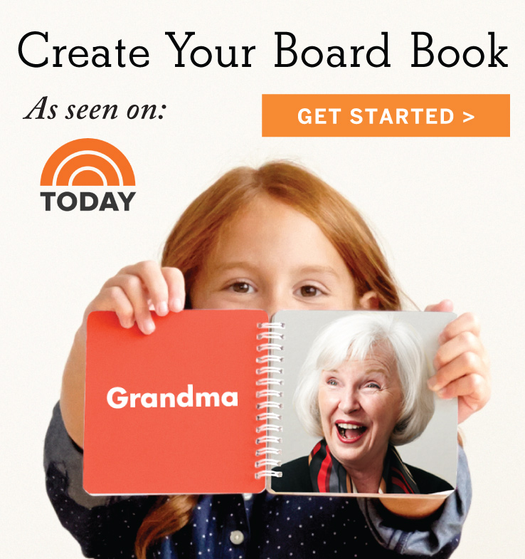 Create Your Board Book - As seen on: Today