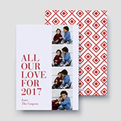 All Our Love Diamonds Holiday Card 2017