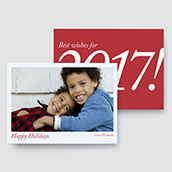 Best Wishes for 2017 Holiday Card