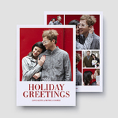 Holiday Greetings Holiday Card