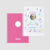 Sticker Book Pink Waterfall