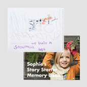 Story Starter Memory Book - Waterfall