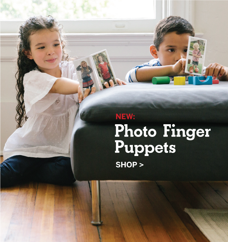 NEW: Photo Finger Puppets, Shop