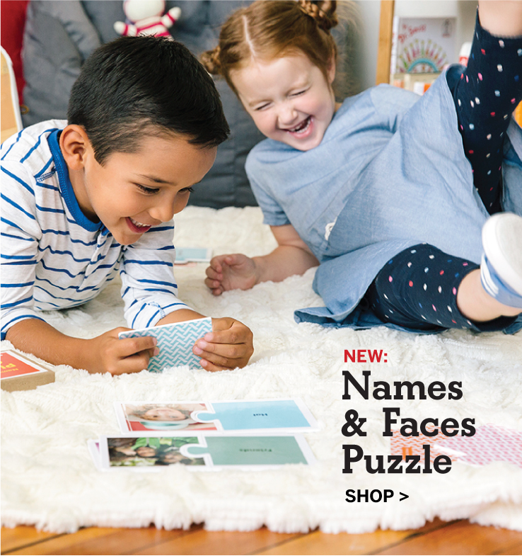 NEW: Names & Faces Puzzle, Shop