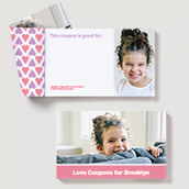 Love Coupons for Kids, Pink
