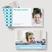 Love Coupons for Kids, Blue