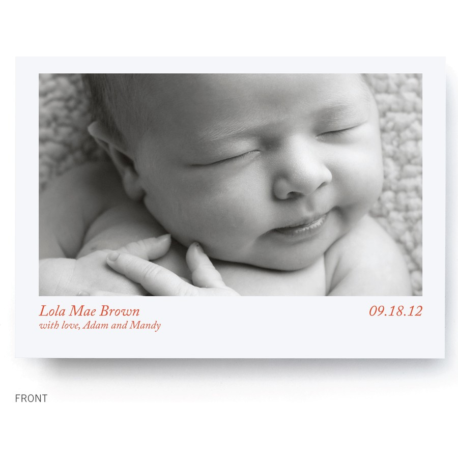 Le Petit Prince Birth Announcement