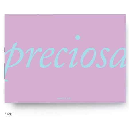 Preciosa Birth Announcement