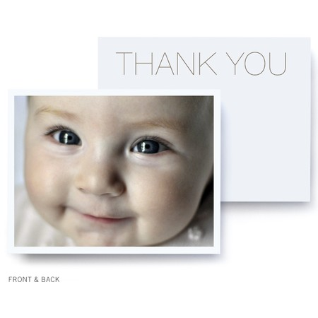 Modern Photo Thank You Card