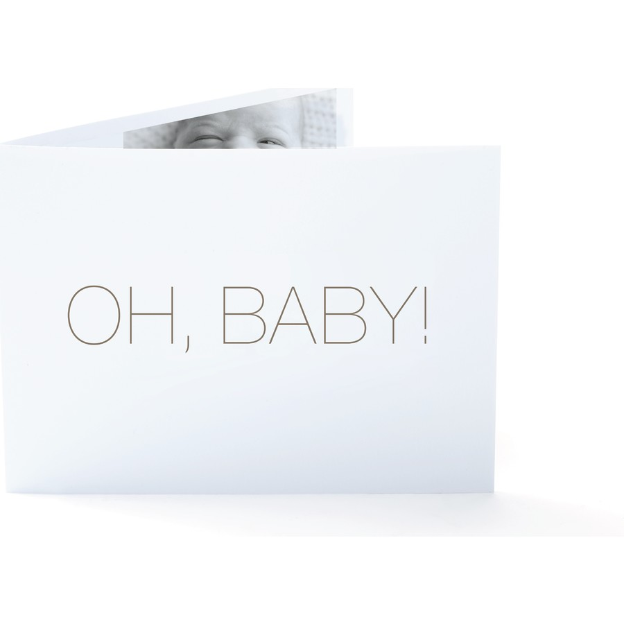 Oh, Baby! Birth Announcement