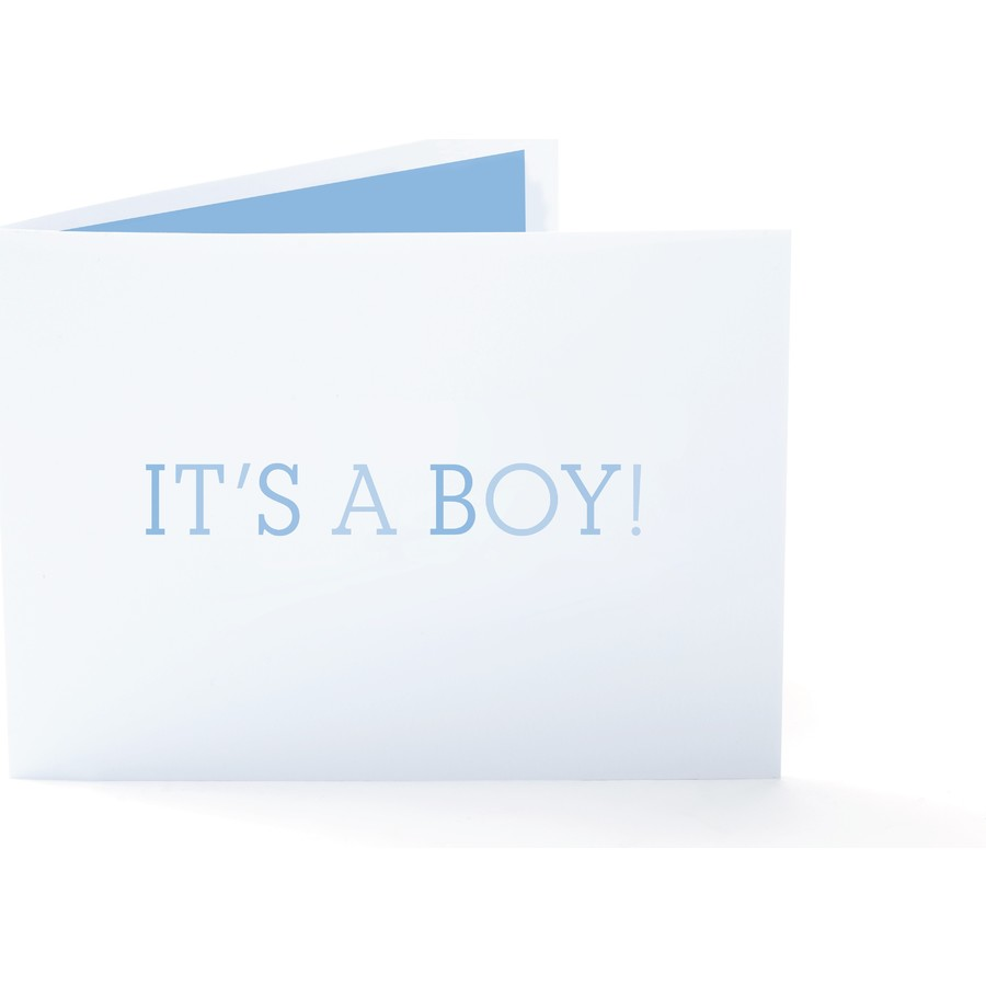 It's A Boy! Birth Announcement