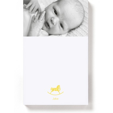Magnetic Notepad with Rocking Horse