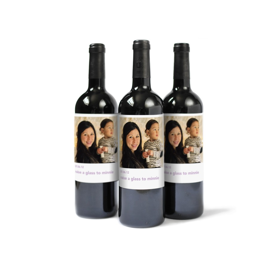 Personalized Wine Labels for Baby Showers