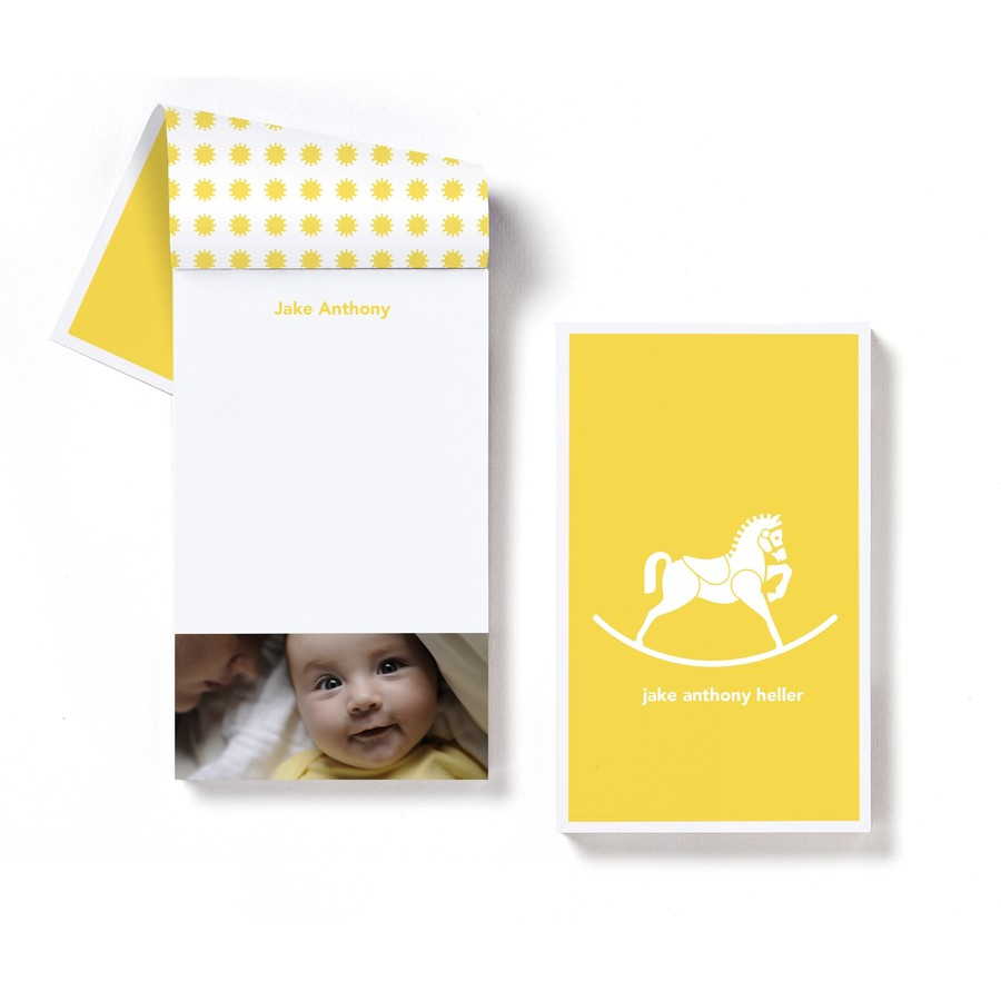 Rocking Horse Notepad
