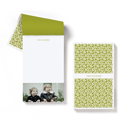 Green Vines Notepad