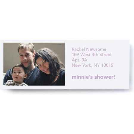 Photo Collection Address Label