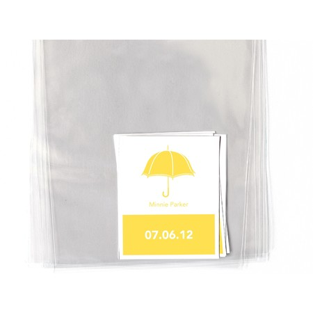 Sunny Umbrellas Goodie Labels/Bags