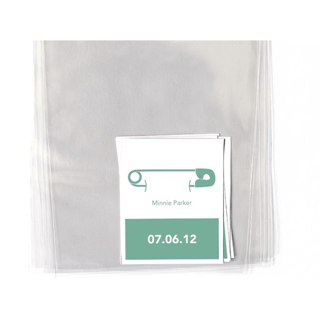 Safety Pins Goodie Labels & Bags