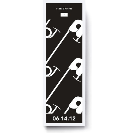 B&W Diaper Pins Gift Labels & Bags