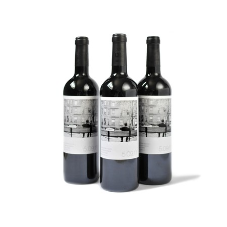Polaroid Style Custom Wine Label