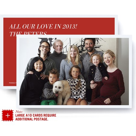 Jumbo Love Holiday Card