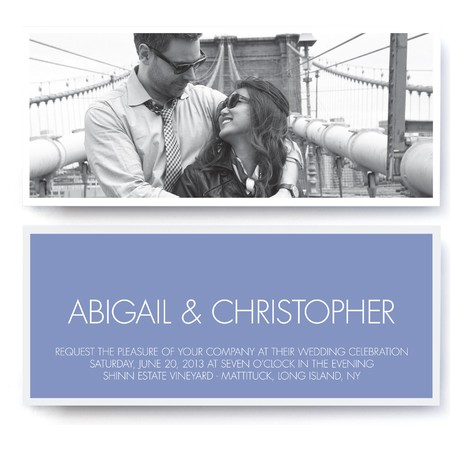 Modern Premium Wedding Invitation