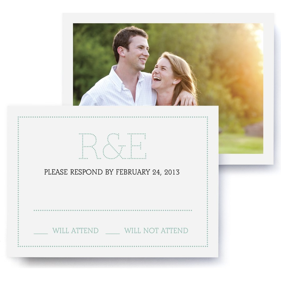 Marquee Wedding RSVP