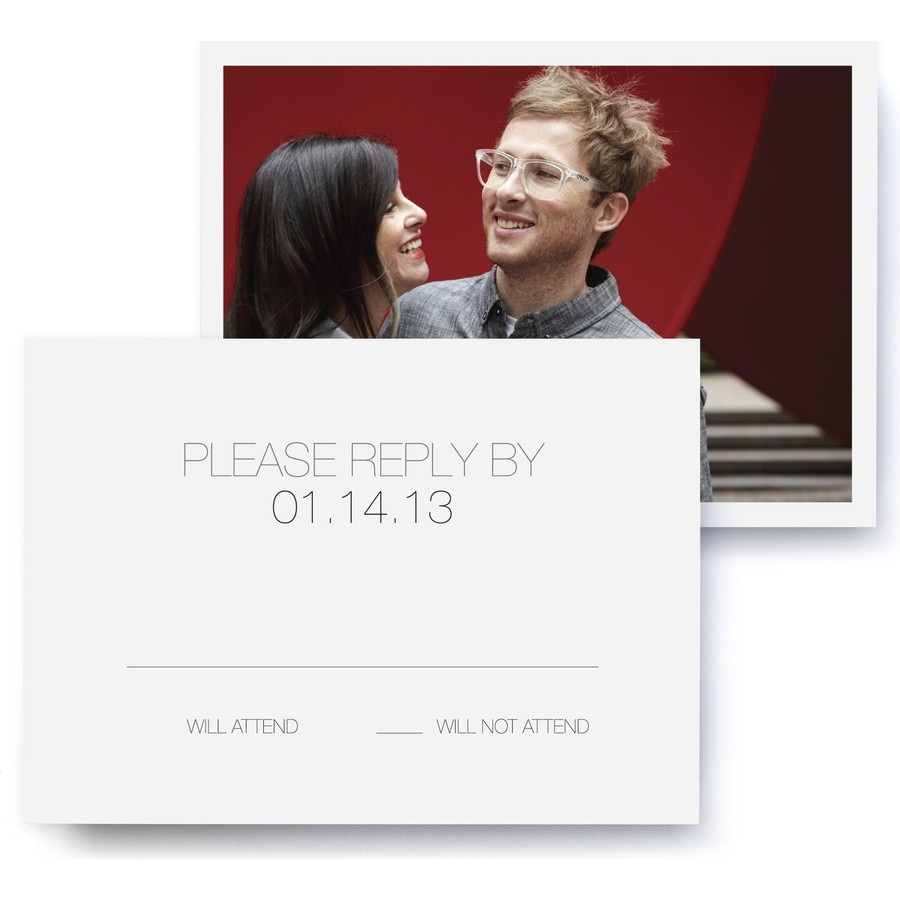 Gallery Wedding RSVP