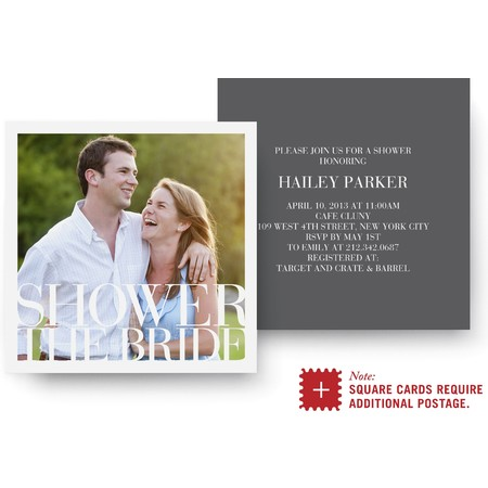 Sophisticate Bridal Shower Invitation