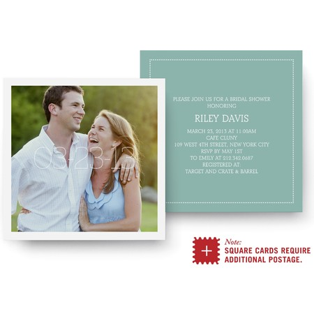Marquee Bridal Shower Invitation