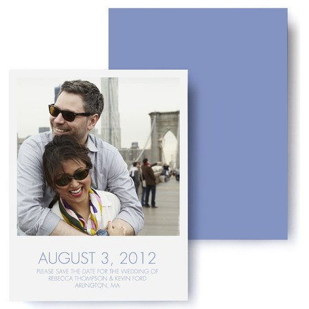 Modern Polaroid  Save The Date Cards